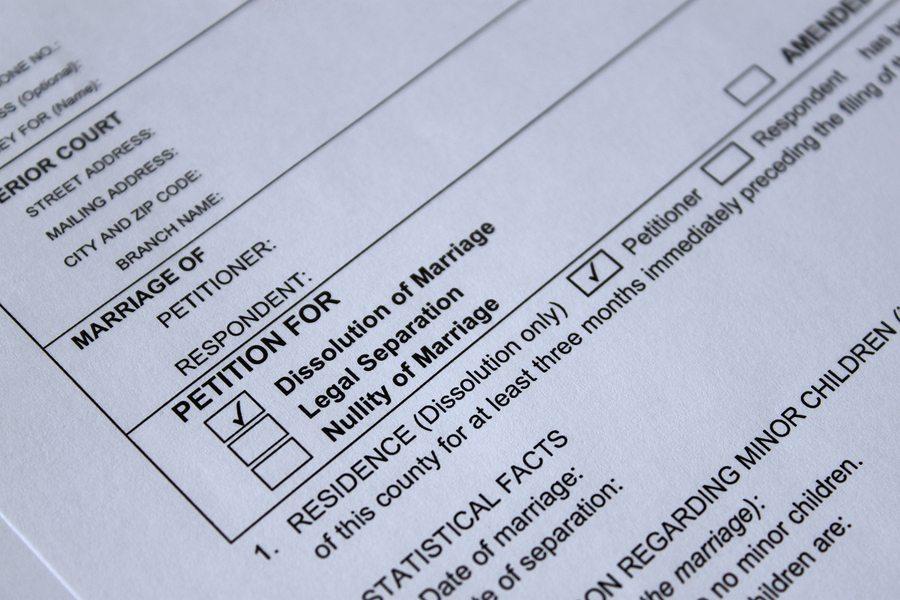 Divorce Petition - Dallas Divorce Lawyer