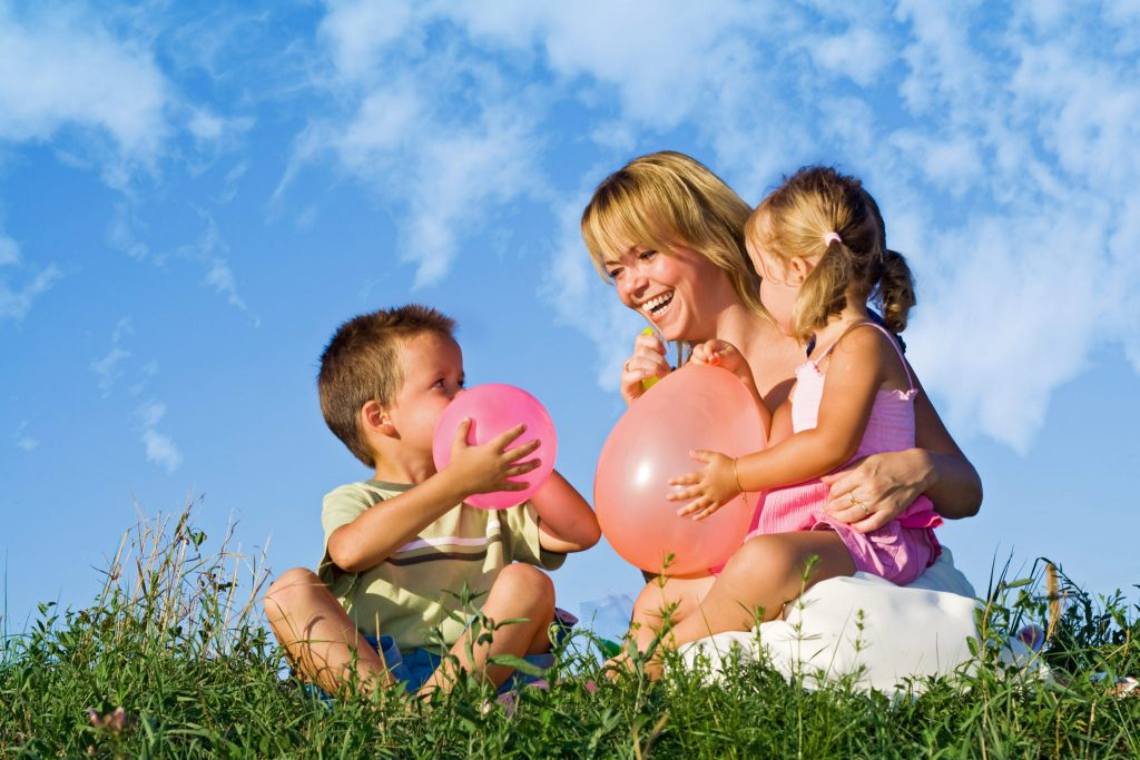 bigstock Woman And Her Kids Playing 3476819 1024x683 - Texas Supreme Court Addresses Child Support Enforcement Orders