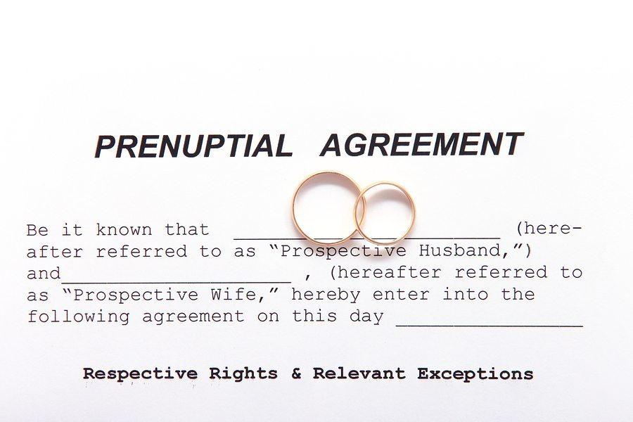 bigstock Prenuptial Agreement with wedd 73568596 - Arlington Prenuptial Agreement Lawyer
