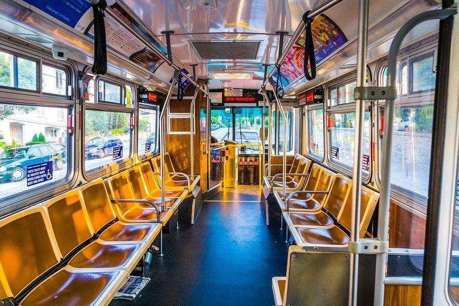bigstock Public Bus Without Passengers 84397034 - Arlington Bus Accident Attorney