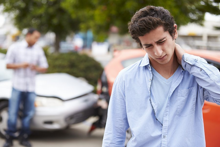 bigstock Teenage Driver Suffering Whipl 94373318 2 - Abogado de Latigazo Cervical de Dallas, Texas