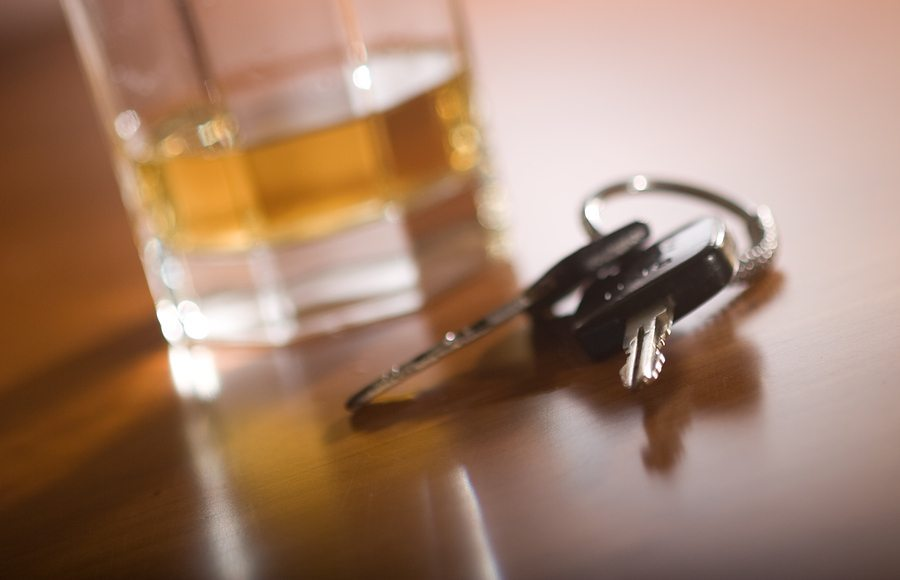 DUI Keys Glass - What Time of Year do Most Car Accidents Occur in Texas?
